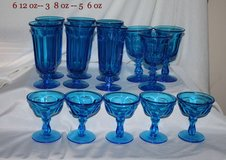 these are tulip glasses from the late 50,s to mid 60,s in Leesville, Louisiana