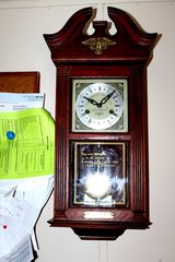GRANDFATHERS WALL CLOCK LIMITED ADDITION S AS SEEN BY PHOTO in Fort Polk, Louisiana