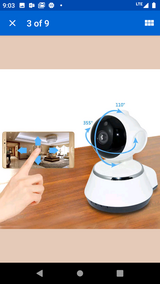 Wireless Indoor IP CCTV video camera in DeRidder, Louisiana
