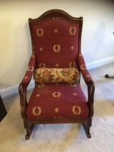 Parker and Southern Duck Arm Upholstered Rocking Chair in Wilmington, North Carolina