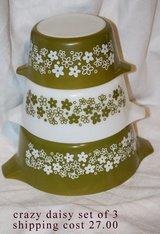 crazy daisy set of 3 in Fort Polk, Louisiana