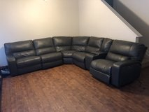Leather sectional in Fort Leonard Wood, Missouri