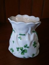 St. Patrick Shamrock China Vase / Bag in Westmont, Illinois