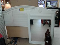 White Cottage Style Mirror #1326-1269 in Camp Lejeune, North Carolina