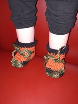 New ... 3/6 months crochet booties in Fort Hood, Texas