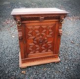 superb carved Renaissance style cabinet with lions heads in Stuttgart, GE