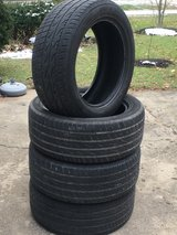 4 Nitto 255/50R-19 Tires in Westmont, Illinois