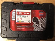 25 Piece Craftsman Socket Wrench Set in Fort Knox, Kentucky
