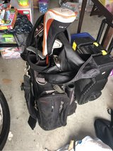 golf bag and golf clubs in Beaufort, South Carolina