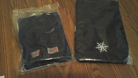 Patriotic scarf &  Snowflake  Print Scraf NEW! Both $5 in Bolingbrook, Illinois