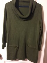 olive color sweater in Kingwood, Texas