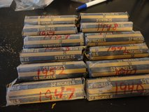 12 rolls circulated jefferson nickels in Fort Campbell, Kentucky