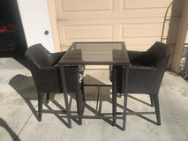Patio Table & Chairs in Oceanside, California