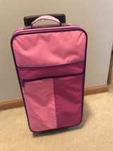 Child-sized rolling suitcase in Lockport, Illinois