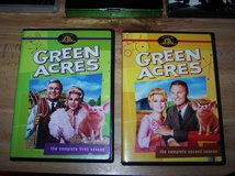 Green Acres complete 1 & 2 seasons dvd sets in Barstow, California