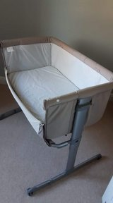 Chicco Next 2 Me crib/cot, unused in Alconbury, UK