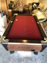 pool table in Spring, Texas