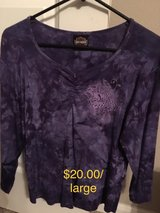 Purple HD shirt in Kingwood, Texas