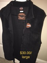 Harley Davidson vest in Kingwood, Texas