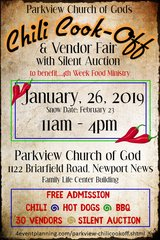Chili Cook-Off & Food Drive in Norfolk, Virginia