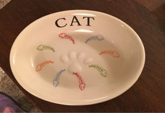 Stoneware Cat Dish in Naperville, Illinois
