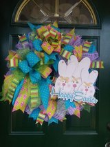 Happy Easter Wreath in Naperville, Illinois