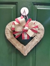Heart Door Hanger/Wreath in Naperville, Illinois