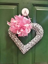 Heart Door Hanger/Wreath #2 in Naperville, Illinois
