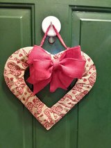Heart Door Hanger/Wreath #3 in Naperville, Illinois