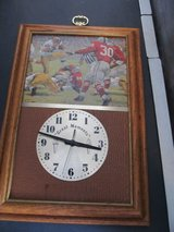Vintage Football Wall Clock in Yorkville, Illinois