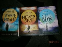 Veronica Rossi UNDER THE NEVER SKY TRILOGY Young Adult Series PAPERBACK Set 1-3 in Lakenheath, UK