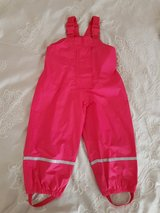 Girls rain overalls 2T  (92) in Ramstein, Germany