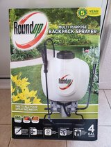 Roundup 4-Gallon Plastic Tank Sprayer with Shoulder Strap in Okinawa, Japan