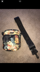 Brand new unisex Young & Reckless floral shoulder bag in Chicago, Illinois