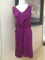 Women's NWT Sleeveless Dress with Ruffles- Sz Med in Plainfield, Illinois