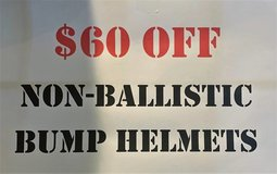 Non Ballistic Bump Helmets in Fort Campbell, Kentucky