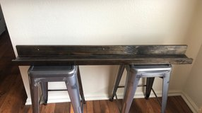 Hand made picture ledges in Oceanside, California