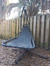 Sling lounger hanging chair in Spring, Texas