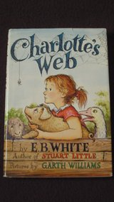 'Charlotte's Web' by E.B.White with dust jacket children's book in Alamogordo, New Mexico