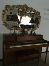 Piano and mirror in Fort Leonard Wood, Missouri