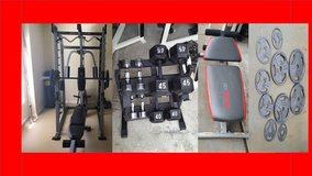 gym equipment and weights in Camp Pendleton, California