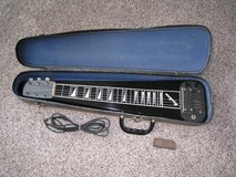 Vintage Airline Lap Steel Guitar with Waverly Slide - Made by Valco in Lockport, Illinois