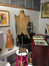 antique ajustable table top dress form in Camp Lejeune, North Carolina