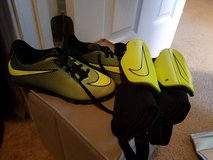 Nike Size 13C cleats and YS shin guards in Hopkinsville, Kentucky