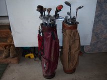 32 MISC OLD GOLF CLUBS-WILSON,MCGREGOR, ETC. DRIVERS ,2 PUTTERS.IRONS in Westmont, Illinois