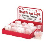 12 Piece Hearts & Lips Glow Candles in Shreveport, Louisiana