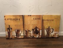 Coffee Themed Kitchen Decor in Cleveland, Texas