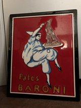 Pates Baroni Wall Plaque/Kitchen Decor in Cleveland, Texas