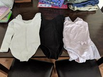 3 Leotards Size 6/6X in Yorkville, Illinois