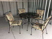 Wrought Iron Patio Furniture in Beaufort, South Carolina